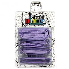 Classic Lavender Lacets élastiques lavande