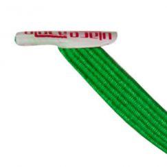 U-Lace mix and match Black lacets élastiques de couleur verte