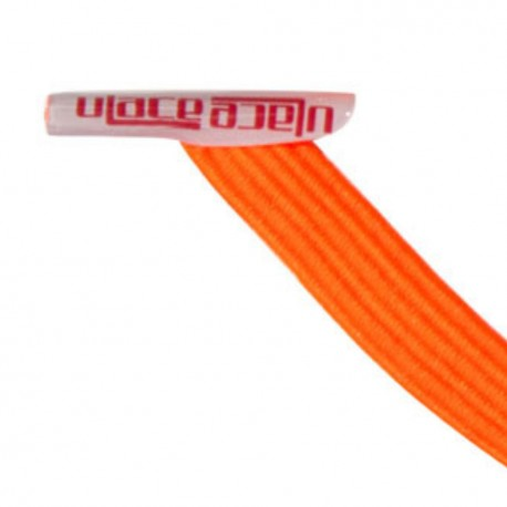U-Lace mix and match Neon Orange lacets élastiques de couleur orange fluo