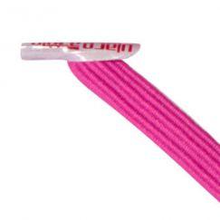 U-Lace mix and match Hot Pink lacets élastiques de couleur rose framboise