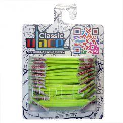 U-Lace classic Neon Yellow lacets élastiques plats
