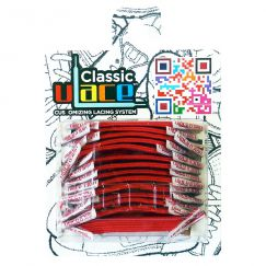 Classic Classic Scarlet Lacets élastiques rouges