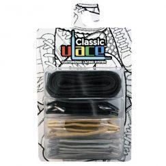 U-Lace classic Metals lacets élastiques multicolores