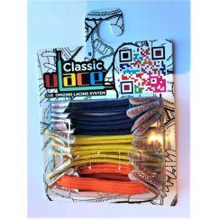 U-Lace classic Bright lacets élastiques multicolores