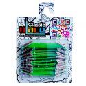 Classic Neon Green Lacets élastiques