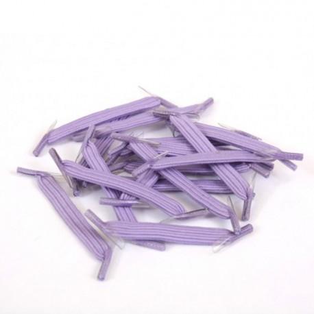 U-Lace classic Lavender lacets élastiques plats