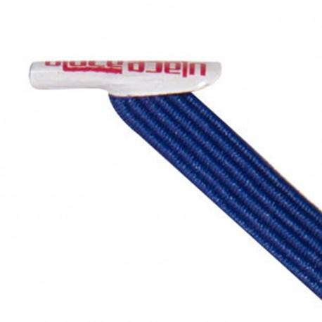 U-Lace mix and match Black lacets élastiques de couleur bleu