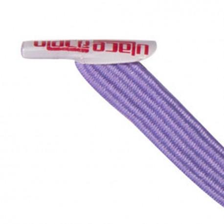 U-Lace mix and match Lavender lacets élastiques de couleur lavande