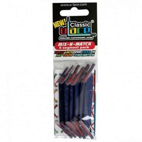 U-Lace mix and match Light Navy lacets élastiques de couleur bleu marine
