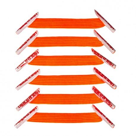 Kiddos Neon Orange Lacets élastiques orange fluo Enfant