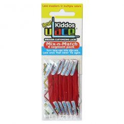 Kiddos Scarlet Lacets élastiques rouges Enfant