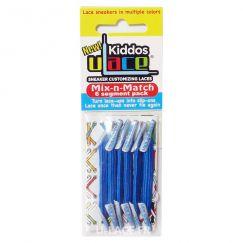 Kiddos Bight Blue Lacets élastiques bleu fluo flashy Enfant