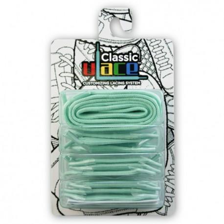 Lacets élastique Vert Eau