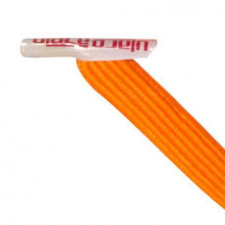 U-Lace classic orange lacets élastiques plats