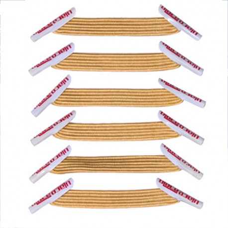 Classic Goldenrod Lacets élastiques dorés
