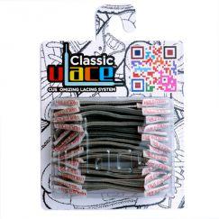 Lacets gris elastiques