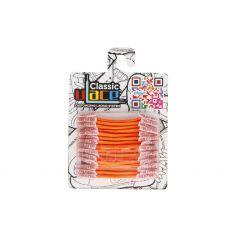 Classic Neon Orange Lacets élastiques orange fluo