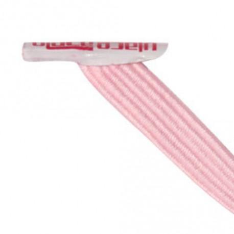 Classic Light Pink Lacets élastiques rose pâle